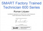SMART Factory Trained Technician 600 Series
